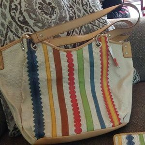 Relic handbag with 2 matching wallets Marley